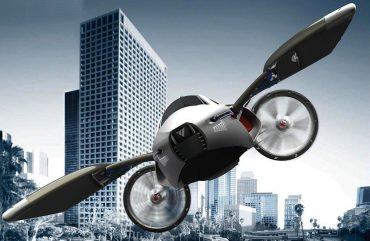 """""""PLUGADO"""" – Toyota trabalha para lançamento de carro voador"""