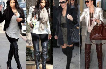 """""""Tá na Moda!"""" – Over The Knee, a moda lançada pelas Kardashians"""