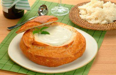 Receita de Sopa de Queijo para os dias frios