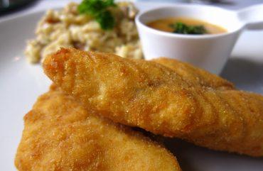 Receitas: Peixe empanado