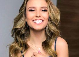 Larissa Manoela abafa rumores de suposto contrato com a Globo