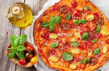 Bora aprender a preparar uma Pizza Vegetariana?