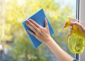 De Casa Para Casa – Como Limpar Portas e Janelas de Vidro