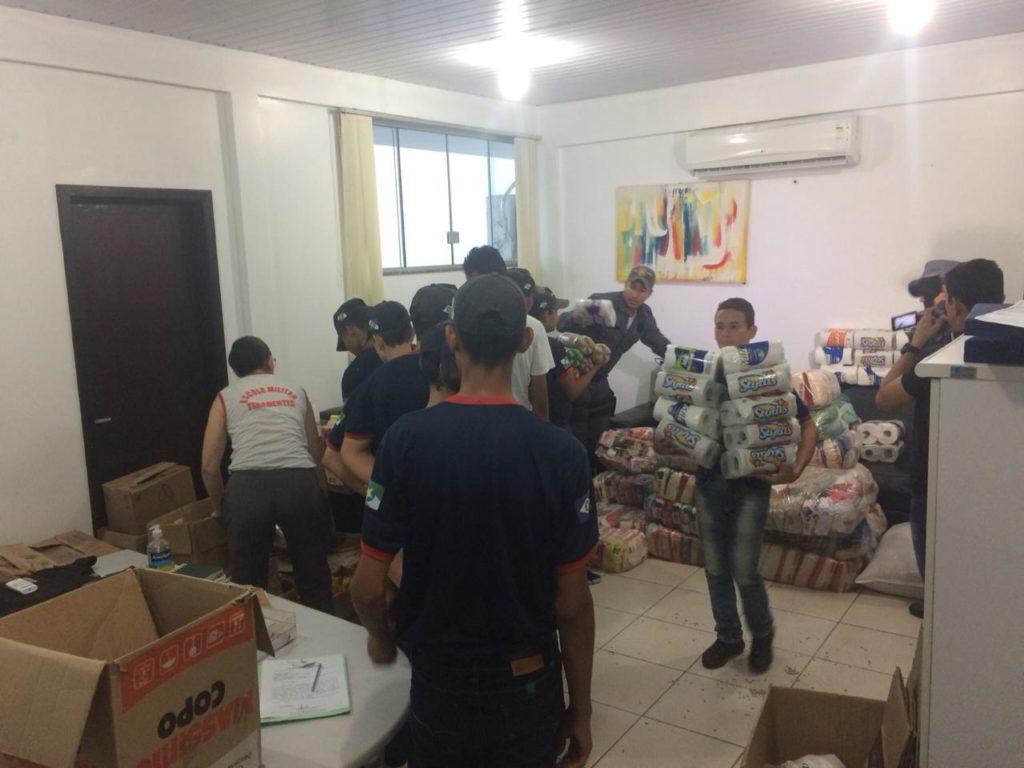 Alunos arrecadam 5 toneladas de alimentos para Hospital do Câncer 4