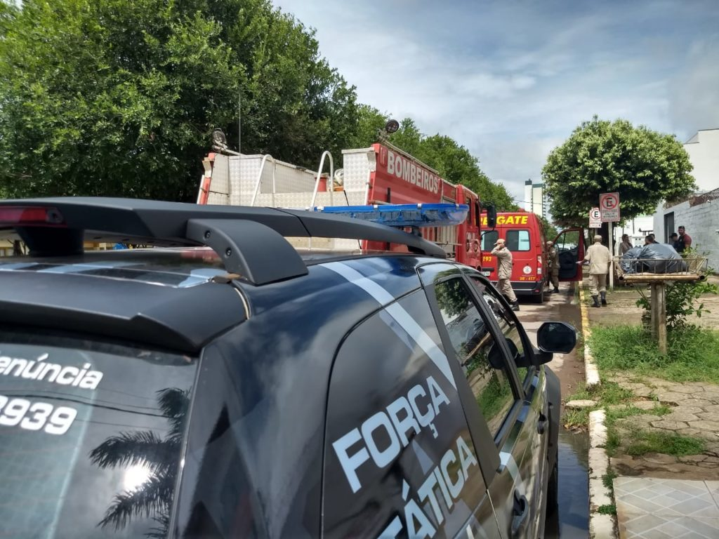 O Corpo de Bombeiros Militar de Sinop foi acionado, na manhã desta quinta-feira (23), para conter um princípio de incêndio no CentroSocioeducativopara menores infratores do município.