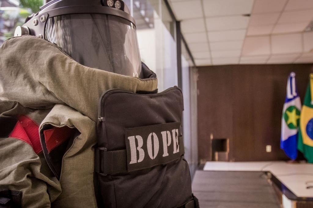 Policiais participam de curso técnico de explosivista do Bope