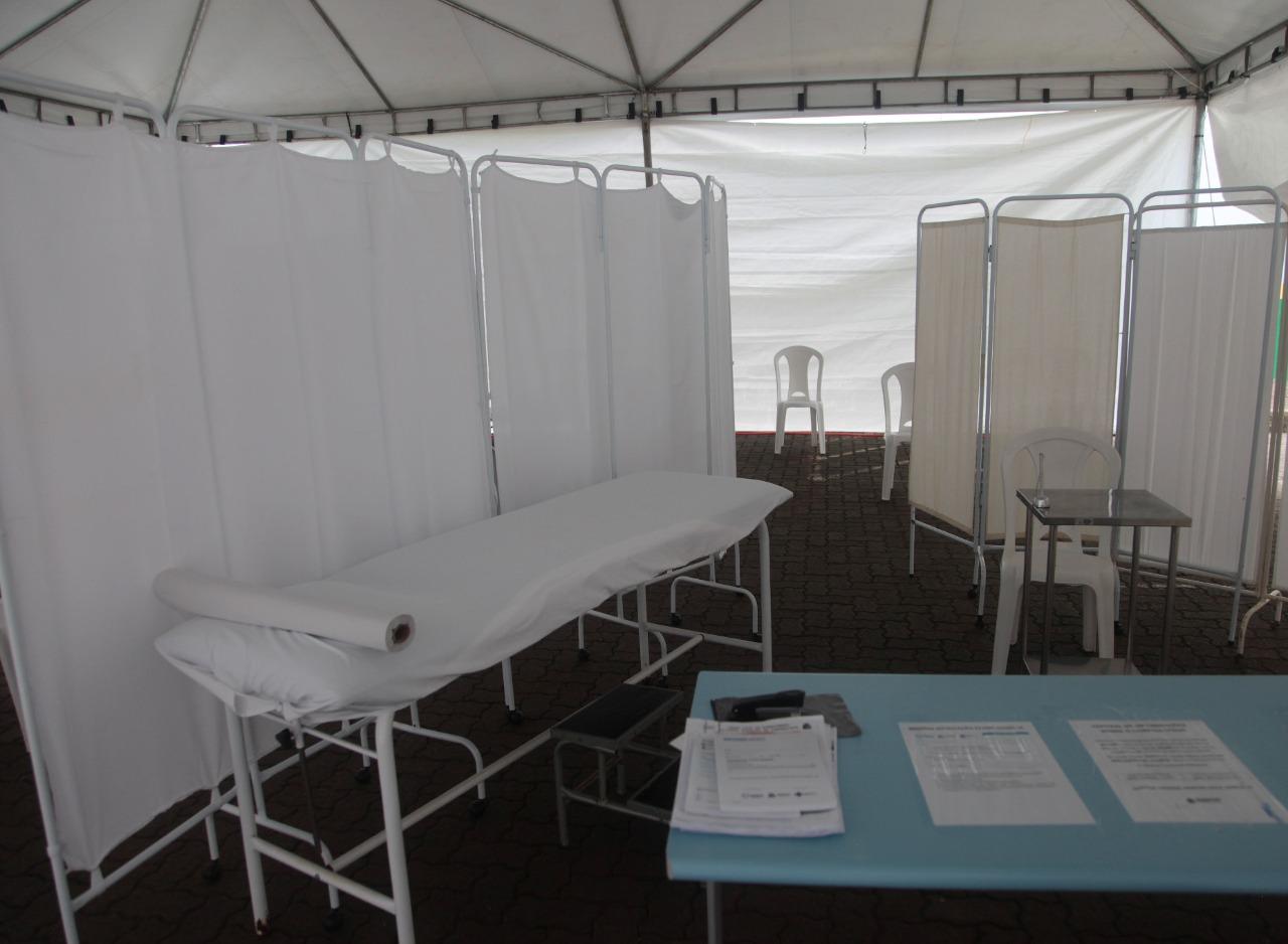 UPA implanta tenda para ampliar atendimento às pessoas com sintomas gripais 5