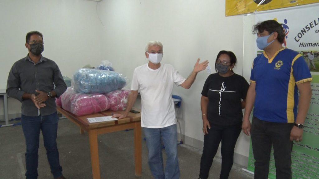Lions Clube entrega mais de 5 mil máscaras ao Hospital Regional