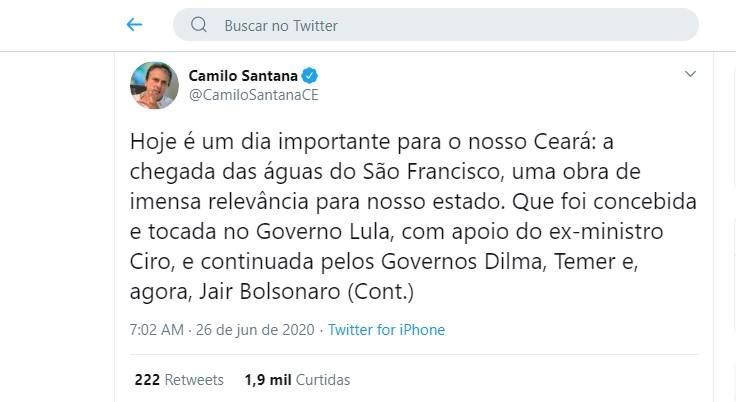 Comporta do Rio São Francisco é acionada por Bolsonaro