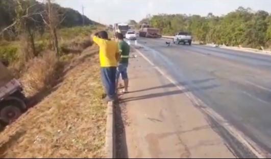 Mulher perde a vida em trágico acidente entre Pálio e Carreta