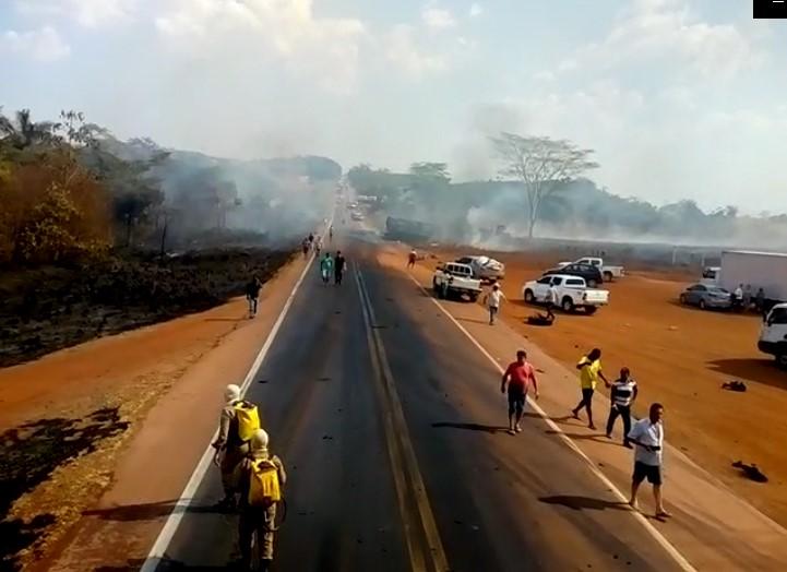 Trabalhador de Guarantã do Norte está entre as vítimas de acidente com carretas