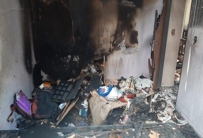 Mulher tem casa incendiada e suspeita cai sob ex-marido