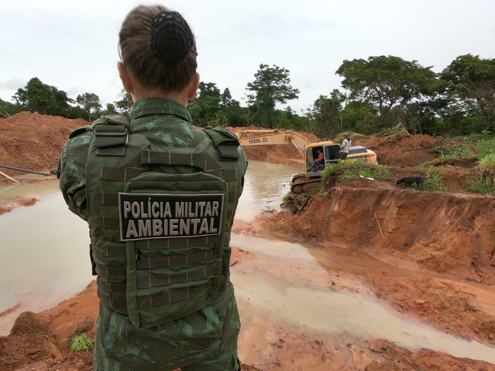 Operação contra garimpos ilegais prendem 4 pessoas 2