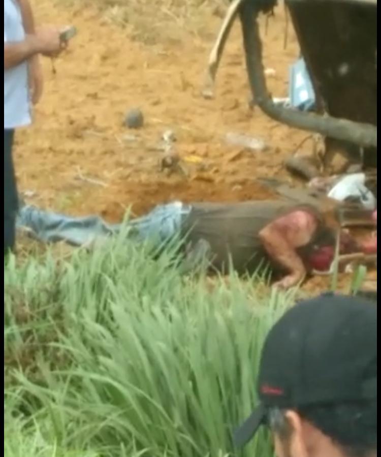 Colisão violenta entre camionete e carreta mata empresário na BR-163 12