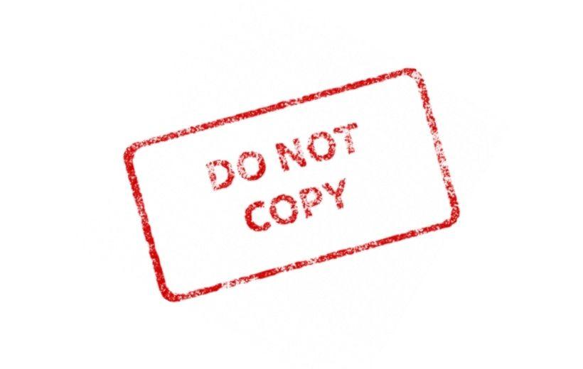 Do not copy