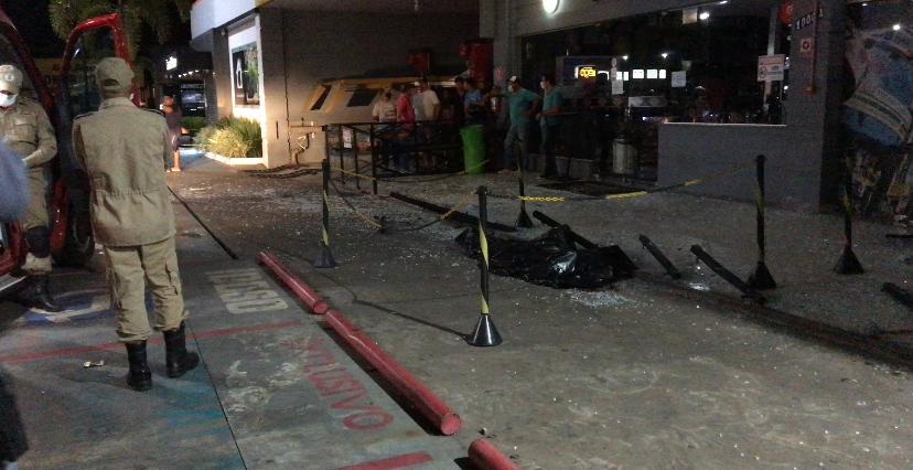 SINOP: Homem morre após ser atropelado em pátio de posto de Gasolina