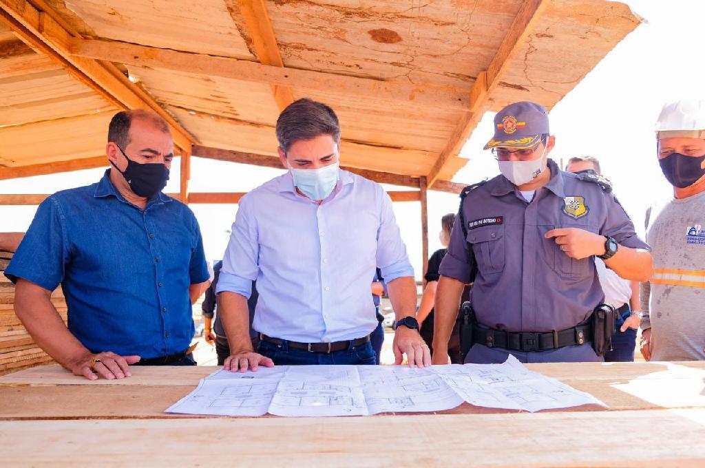 Nova sede de escola militar começa a ser construída em Sorriso 2