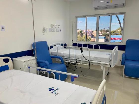 Hospital Regional de Sinop passa por obras de modernização