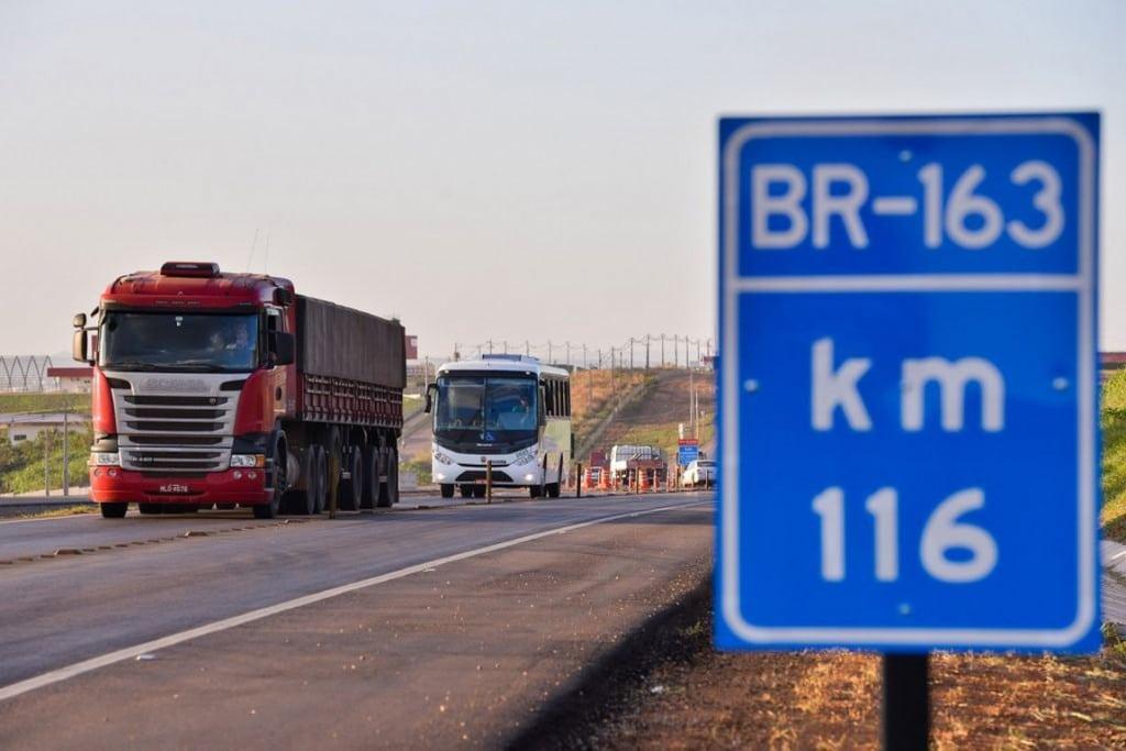 Duplicação da BR-163 deve ser retomada em março