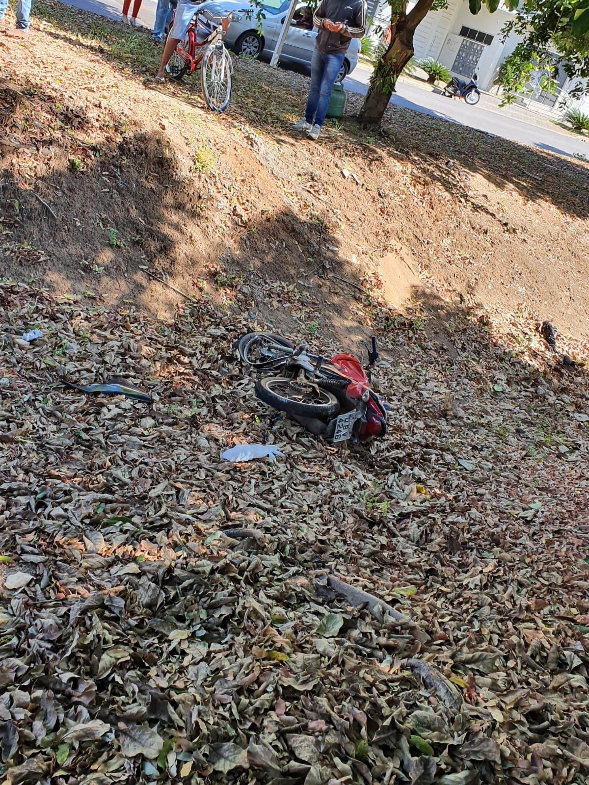 URGENTE: Colisão violenta entre motos deixa vítima fatal em Sinop 4