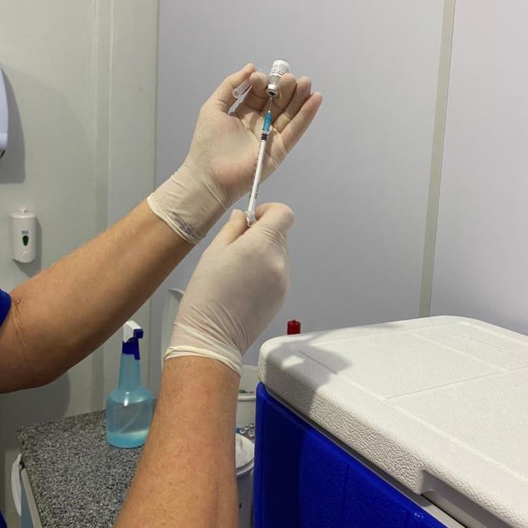 Sinop atinge mais de 60 mil doses aplicadas contra COVID-19