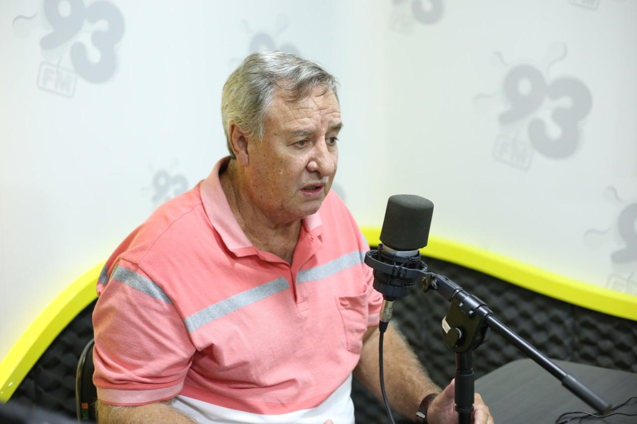 COLETA: Dalton diz ser culpa da administração sobre troca de empresa