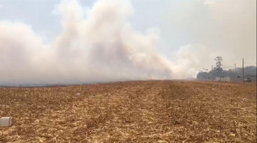 URGENTE: Incêndios de grandes proporções causam pavor na população sinopense 11
