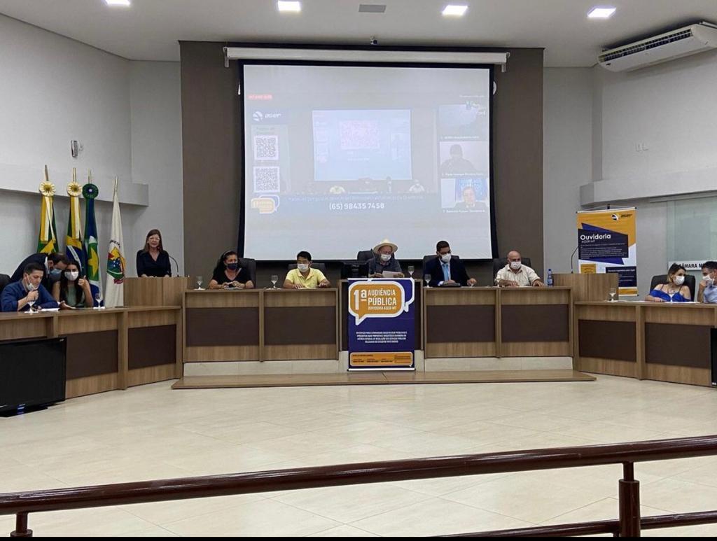 Prefeito cobra empresas concessionárias em audiência pública da AGER - MT 2