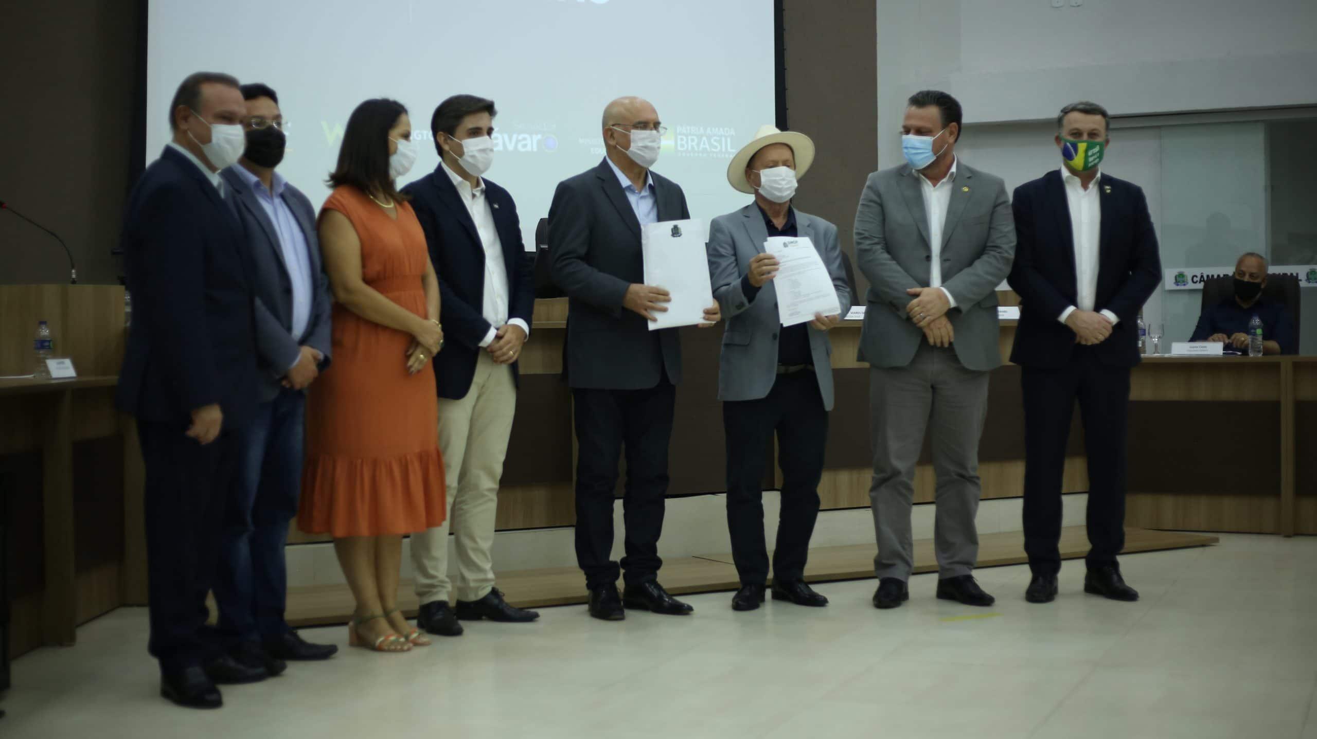 SINOP: Em evento, ministro da educação mostra apoio para criação de UFNMT 7