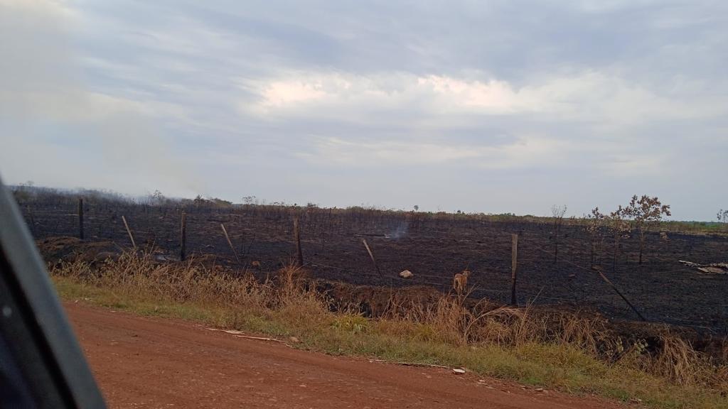 Incêndio no Lixão mobiliza autoridades após horas de trabalho em combate ao fogo 11