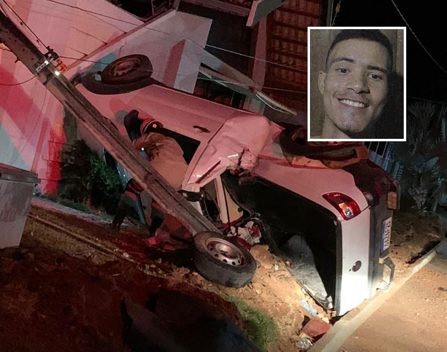 Jovem de 19 anos morre após colisão gravíssima em poste 2