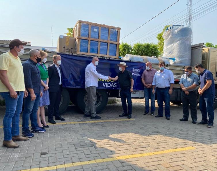 Sinop Energia doa equipamentos para instalação da primeira usina de oxigênio 3